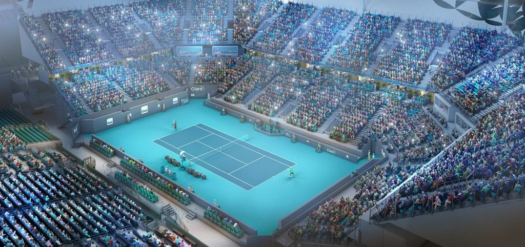Miami Tennis Open Schedule Tickets 2019 Coupon Discounts Hotels - Us-open-tennis-location-map