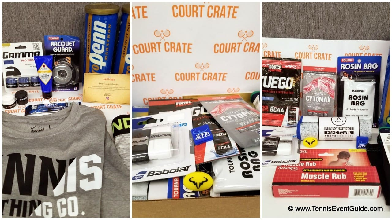 Court Crate Tennis Subscription