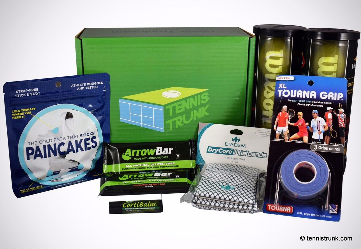 Tennis Trunk Subscription Box
